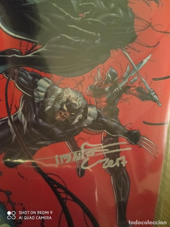 Cómics: Número 1 de Venomverse edición USA, firmado por Iban Coello. - Foto 2 - 223491302