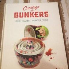 Cómics: CATÁLOGO DE BUNKERS (JORDI PASTOR Y MARCOS PRIOR). 104 PAG. COLOR. TAPA DURA. ASTIBERRI.. Lote 223514788