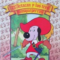 Cómics: D'ARTACÁN Y LOS TRES MOSQUEPERROS - DANONE - 1982 - TAPA RÚSTICA 275 X 210 ''BUEN ESTADO''. Lote 223623070