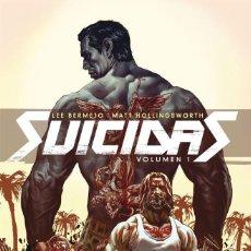 Cómics: DC - LUIS BERMEJO - SUICIDAS VOLUMEN 1 - ECC EDICIONES. Lote 223768337