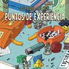Cómics: PUNTOS DE EXPERIENCIA (JOSEP BUSQUET / PERE MEJAN) DIBBUKS - CARTONE - MUY BUEN ESTADO - OFM15. Lote 223921572