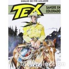 Cómics: TEX SANGRE EN COLORADO (DIBUJO DE IVO MILAZZO) ALETA ED. - CARTONE - IMPECABLE - OFM15. Lote 223954141