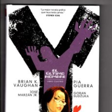 Comics: Y EL ULTIMO HOMBRE 4 - ECC / DC BLACK LABEL / VERTIGO / TAPA DURA / BRIAN K VAUGHAN & PIA GUERRA. Lote 245154550