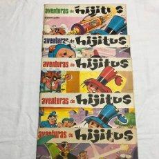 Cómics: AVENTURAS DE HIJITOS LOTE DE 5 EJEMPLARES. Lote 224100027