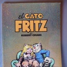 Cómics: EL GATO FRITZ, DE ROBERT CRUMB - COLECCIÓN TUMI Nº 4 - 1981 - 100 PÁG. B/N. Lote 224140283
