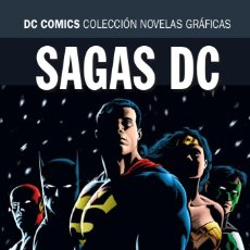 Cómics: HORA CERO / LA NOCHE FINAL - ECC / DC COLECCION NOVELAS GRAFICAS SAGAS / TAPA DURA. Lote 224249542