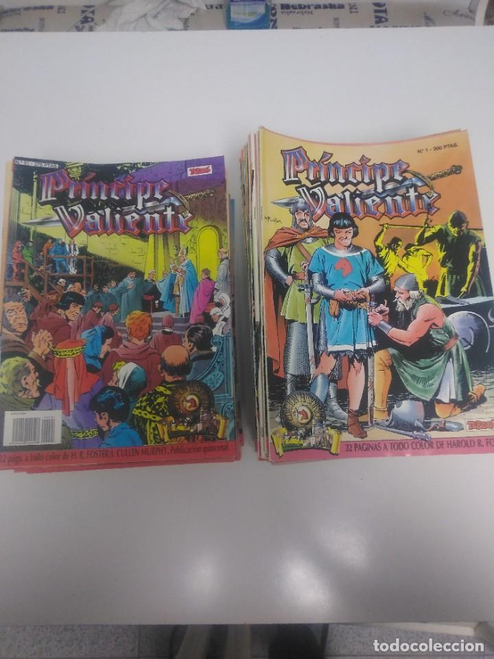 COLECCIÓN EL PRÍNCIPE VALIENTE EDICIÓN HISTÓRICA COMPLETA 91 CÓMICS 1988 EDICIONES B (Tebeos y Comics - Buru-Lan - Principe Valiente)