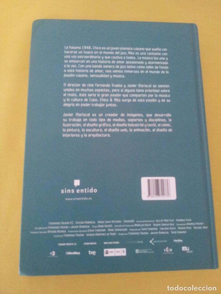 Cómics: JAVIER MARISCAL Y FERNANDO TRUEBA - CHICO & RITA - SINS ENTIDO 2010 - Foto 3 - 224649063