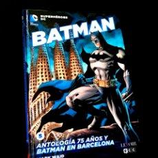 Cómics: DE KIOSCO BATMAN 5 ANTALOGIA 75 AÑOS Y BATMAN EN BARCELONA SUPERHEROES DC LEVOIR ECC. Lote 224833886