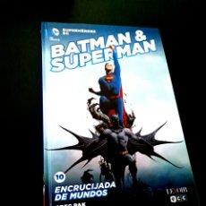 Cómics: DE KIOSCO BATMAN Y SUPERMAN 10 ENCRUCIJADA DE MUNDOS LEVOIR ECC. Lote 224836998