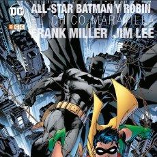 Cómics: ALL STAR BATMAN Y ROBIN EL CHICO MARAVILLA - ECC / DC / EDICION DELUXE CON FUNDA IMPRESA. Lote 224934978