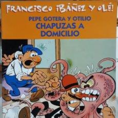 Cómics: COMIC N°3 FRANCISCO IBÁÑEZ Y OLÉ PEPE GOTERA Y OTILIO CHAPUZAS A DOMICILIO. Lote 224973080