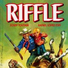 Cómics: RIFFLE (JOSEP TOUTAIN / RAFAEL LOPEZ ESPI) EDT - CARTONE - IMPECABLE - OFM15. Lote 225354735