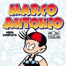 Cómics: MARCO ANTONIO OBRA COMPLETA (MIQUE BELTRAN) EDT - CARTONE - IMPECABLE - OFM15. Lote 225356521