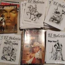 Cómics: GRAN LOTE FANZINE EL BOLETIN. HISTORIA DEL TEBEO / COMIC ESPAÑOL Y FORANEO. 102 EJEMPLARES.. Lote 225578656