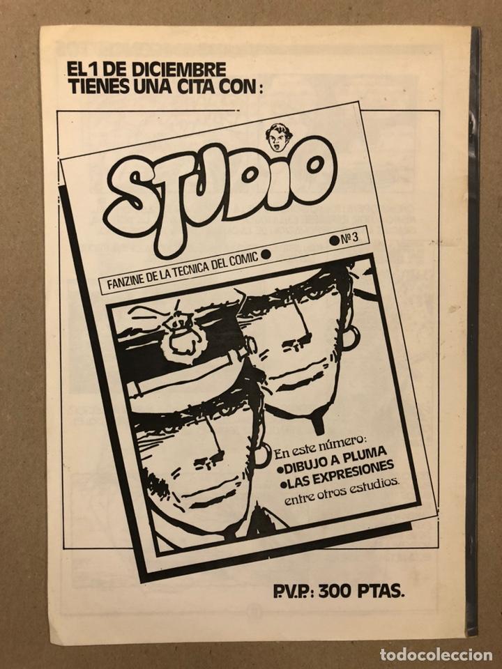 Cómics: STUDIO N° 1, 2, 3 y 4 (FERROL 1983). HISTÓRICOS FANZINES ORIGINALES SOBRE LA TÉCNICA DEL CÓMIC. VV.A - Foto 15 - 225606870