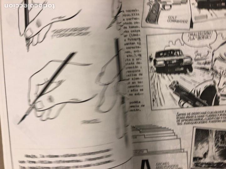 Cómics: STUDIO N° 1, 2, 3 y 4 (FERROL 1983). HISTÓRICOS FANZINES ORIGINALES SOBRE LA TÉCNICA DEL CÓMIC. VV.A - Foto 17 - 225606870