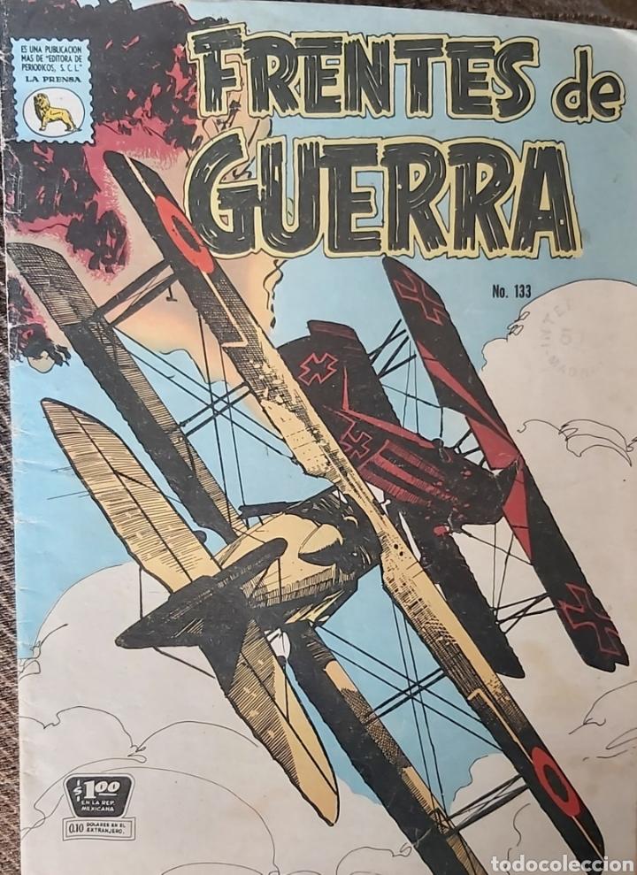 FRENTES DE GUERRA #133 DE 1965 (Tebeos y Comics Pendientes de Clasificar)