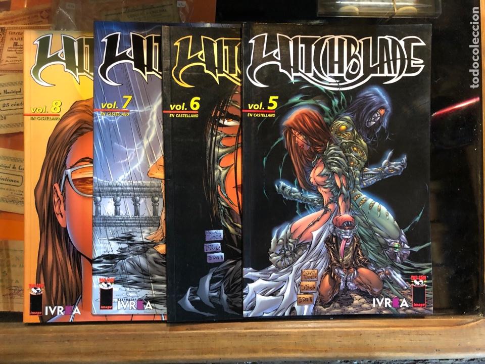 WITCHBLADE - VOL. 5, 6, 7 Y 8 - IVREA (Tebeos y Comics - Comics otras Editoriales Actuales)