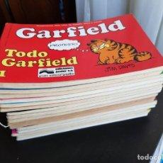 Cómics: LOTE 16 TEBEOS/ CÓMIC GARFIELD N⁰ 1-2-3...27 - 1 PRIMERA EDICIÓN GRIJALBO JUNIOR 1989 JIM DAVIS. Lote 226083590