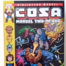 Cómics: BIBLIOTECA MARVEL LA COSA MARVEL TWO IN ONE 11-FORUM #. Lote 226103500