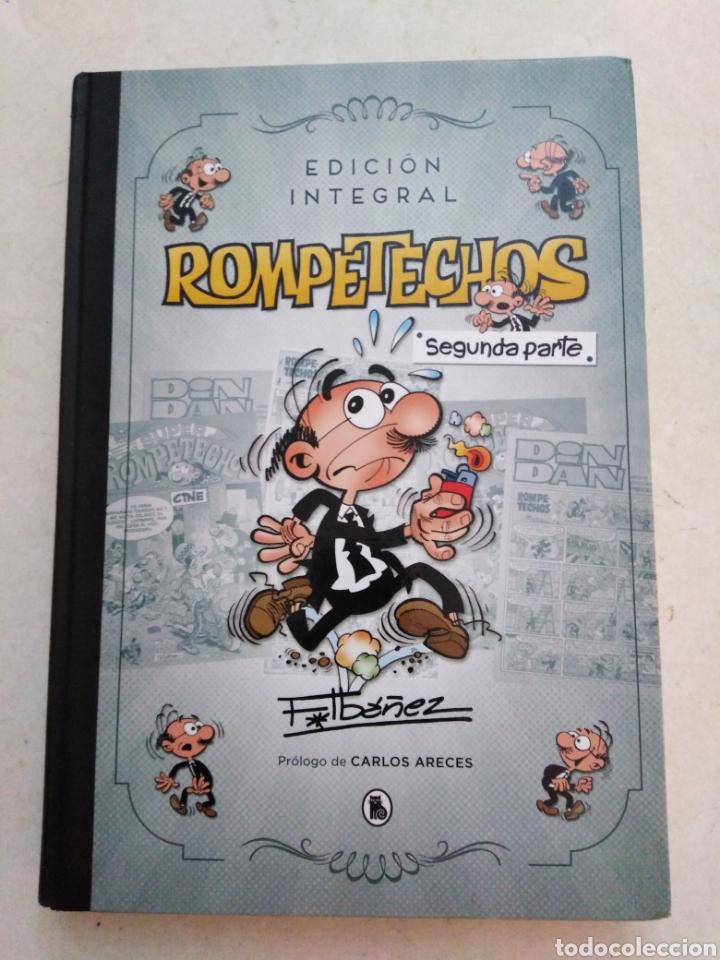 EDICIÓN INTEGRAL ROMPETECHOS ( SEGUNDA PARTE ) (Tebeos y Comics Pendientes de Clasificar)