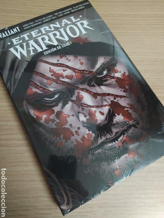 ETERNAL WARRIOR EDICIÓN DE LUJO. VALIANT. MEDUSA CÓMICS (Tebeos y Comics - Comics otras Editoriales Actuales)