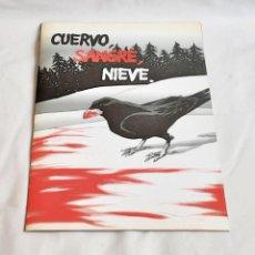 Cómics: LA UÑA DE ITRTHIL CUERVO SANGRE NIEVE AÑO 2002. Lote 226247490