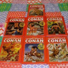 Cómics: LA ESPADA SALVAJE DE CONAN. 7 LIBROS EDICIÓN COLECCIONISTAS.. Lote 226351575