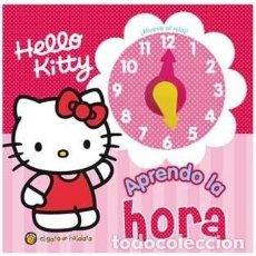 Cómics: LIBRO HELLO KITTY APRENDO LA HORA COL QUE HORA ES 0504 GUADAL - ANÓNIMO. Lote 226533516