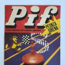 Cómics: SEMANARIO JUVENIL PIF Nº 27 – PEONZA SIRENA. ED. TUC S.A. 1978. REVISTA AÑOS 70.. Lote 226642095