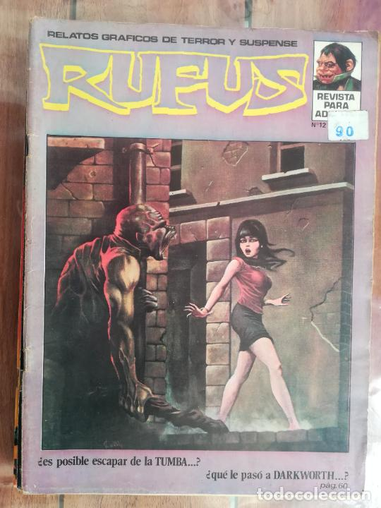 RUFUS. Nº 12. IBERO MUNDIAL (Tebeos y Comics - Comics otras Editoriales Actuales)