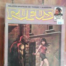Cómics: RUFUS. Nº 12. IBERO MUNDIAL. Lote 226652730