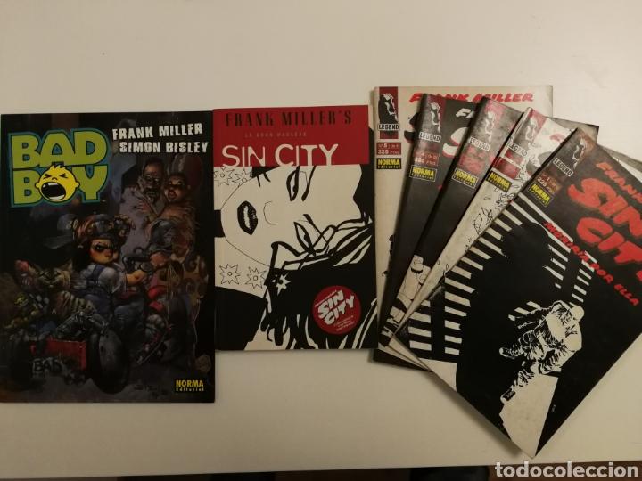 LOTE FRANK MILLER, (SIN CITY, BAD BOY) (Tebeos y Comics - Comics Pequeños Lotes de Conjunto)