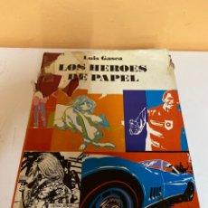 Cómics: LOS HEROES DEL PAPEL. Lote 226744740