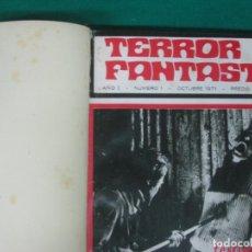 Cómics: TERROR FANTASTIC. ENCUADERNADO DEL Nº1 AL Nº 12.. Lote 227182590