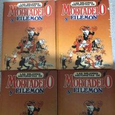 Cómics: MORTADELO Y FILEMÓN 4 TOMOS. Lote 227872790
