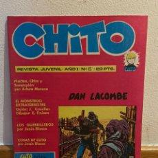 Cómics: CHITO NÚMERO 15 DAN LACOMBE. Lote 227929445