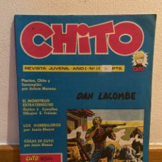 Cómics: CHITO NÚMERO 14 DAN LACOMBE. Lote 227929660