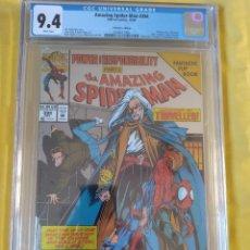 Comics: COMIC CGC 9.4 AMAZING SPIDERMAN USA #394-1994-BAGLEY/DEMATTEIS-PRECIOSA PORTADA BRILLANTE Y DOBLE. Lote 228009515