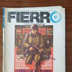 Cómics: REVISTA FIERRO , LA HISTORIETA ARGENTINA , ESPECIAL MALVINAS 30 AÑOS. Lote 228040773