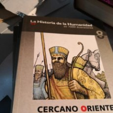 Cómics: 4 TOMOS LA HISTORIA DE LA HUMANIDAD EN 7000 ILUSTRACIONES.9, 6,7 Y 8. CERCANO ORIENTE B. EL MUNDO. Lote 228196230
