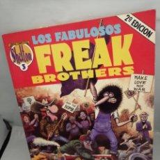 Cómics: SHELTON. OBRAS COMPLETAS 3: LOS FABULOSOS FREAK BROTHERS. Lote 228111930