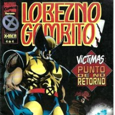 Cómics: LOBEZNO - GAMBITO, MINISERIE COMPLETA 4 NÚMEROS, FORUM. Lote 228303935