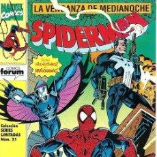 Cómics: SPIDERMAN, LA VENGANZA DE MEDIANOCHE, MINISERIE COMPLETA 6 NÚMEROS, FORUM. Lote 228309065