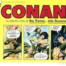 Cómics: CONAN, TIRAS DIARIAS COLECCIÓN COMPLETA, FORUM, 12 NÚMEROS. Lote 228321757
