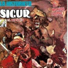 Cómics: LA HISTORIETA PRESENTA A SIGUR EL VIKINGO, COLECCIÓN COMPLETA, 3 NÚMEROS, DE EDICIONES URSUS. Lote 228324430