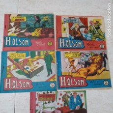 Cómics: H.OLSON LOTE 1-4-14-15 -20.ED.MAGA.BERNABEU.ORIGINALES.. Lote 228333470