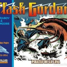 Cómics: FLASH GORDON : PIRATAS DE LA LUNA (SUNDAY PAGES 1951-1954) - DOLMEN / TAPA DURA. Lote 228611985
