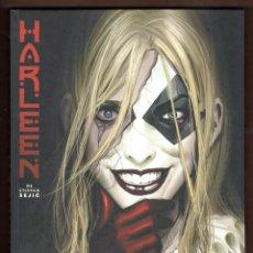 Cómics: HARLEEN DE STJEPAN SEJIC - ECC / DC BLACK LABEL / EDICION INTEGRAL / TAPA DURA / HARLEY QUINN. Lote 227482125